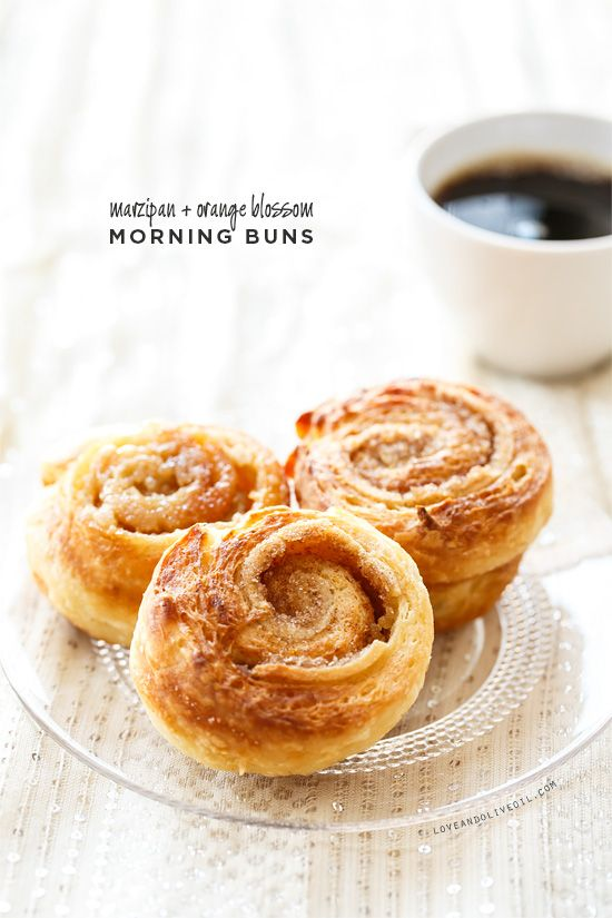 Marzipan & Orange Blossom Morning Buns inspired by Tartine bakery - perfect for New Years' Day brunch!