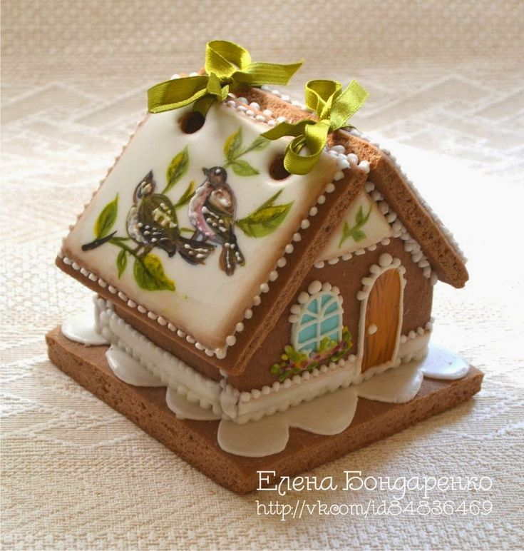 GINGERBREAD HOUSE~Spring gingerbread house.Пряничное волшебство Елены Бондаренко: Новые пряничные домики