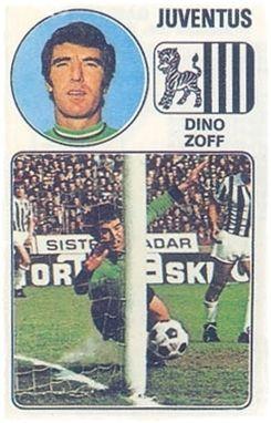Zoff - Panini Euro Fútbol 77