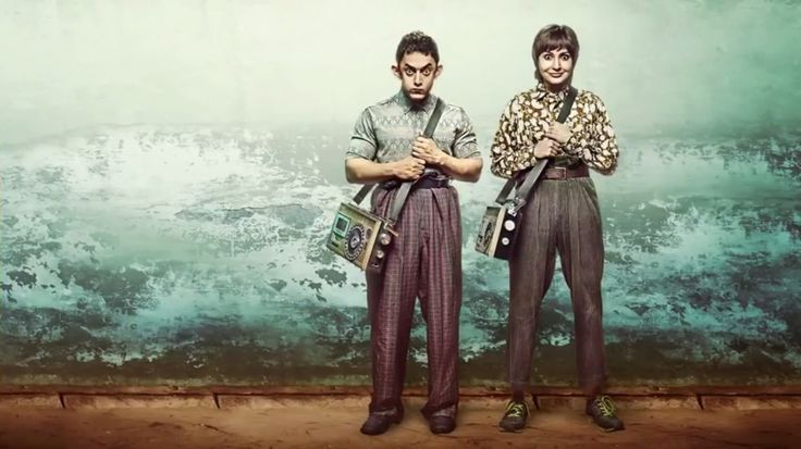 #pk Movie still image.  #Bollywood #AamirLiaquat