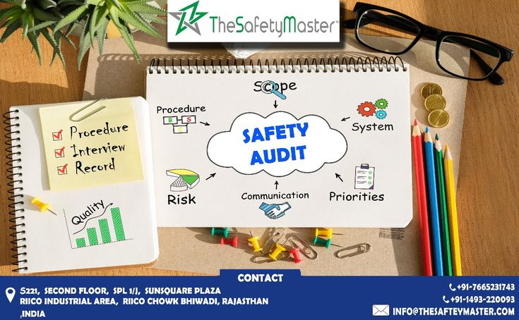Safety is an endless and an ongoing process. View our SAFETY audit how it is worked. For more details call on 00917665231743. Visit our website: https://www.thesafetymaster.com #Safer_India-#Better_World #fire_safety #road_safety