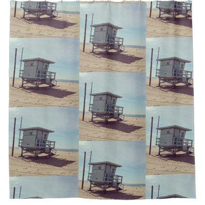 Venice Beach Shower Curtain - shower gifts diy customize creative