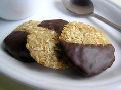 Kókuszos zabkeksz csokoládésan