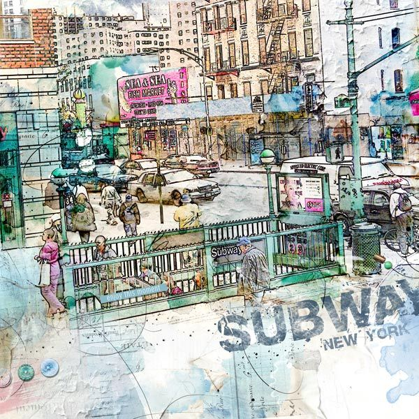Subway - Oscraps Gallery