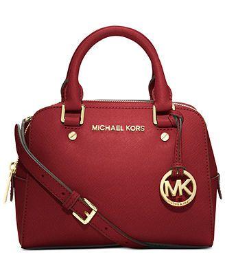 MICHAEL Michael Kors Handbag, Jet Set Small Travel Satchel