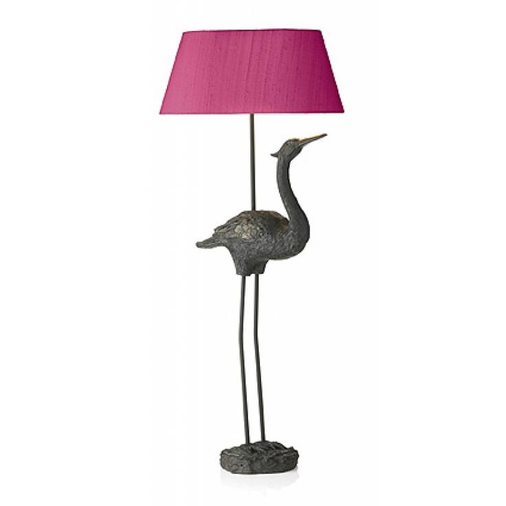 David Hunt Bird Lamp