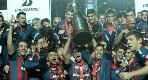 San Lorenzo de Almagro Campeon! Copa Bridgestone Libertadores 2014 .