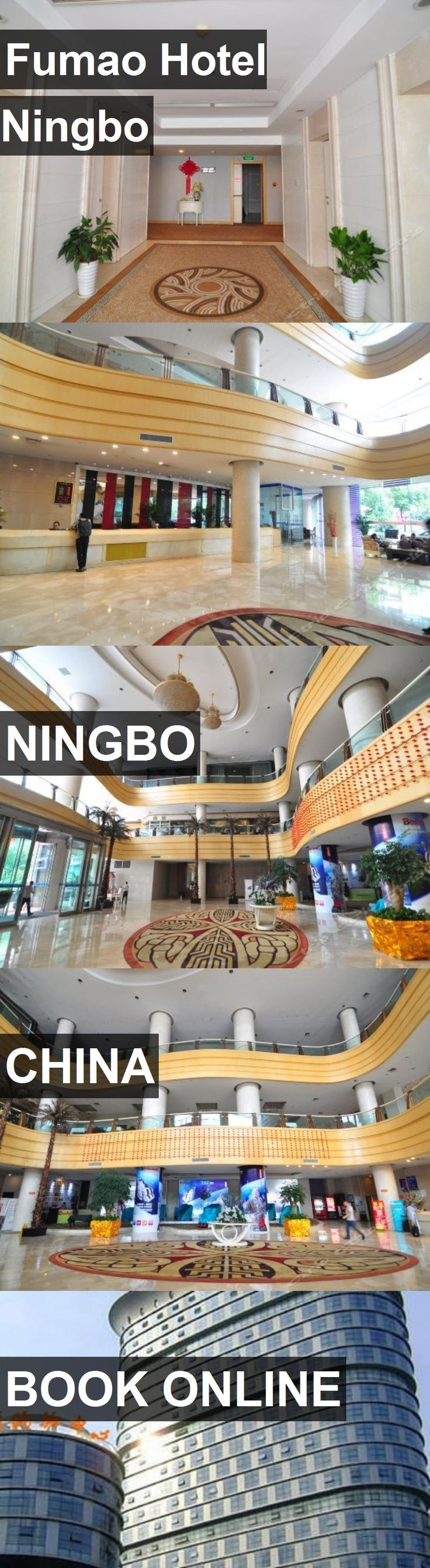 Fumao Hotel Ningbo in Ningbo, China. For more information, photos, reviews and best prices please follow the link. #China #Ningbo #travel #vacation #hotel