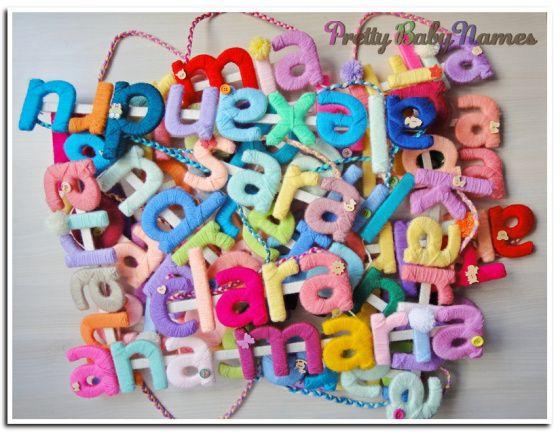A  handmade baby present - Super colors