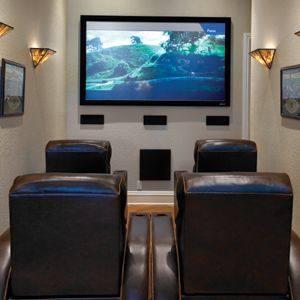 small room home theater ideas: Using more real-world dimensions of 10×15 feet (150 square feet), what are the questions you should ask when you start planning your own high definition escape?