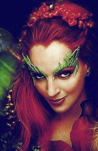 absolutely obsessed with her make up and those leaves over her eyes in this movie. also, Uma Thurman rulezzz