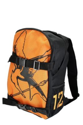 District 12 backpack @ The Hunger Games Movie Merchandise