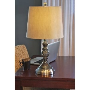 For Sofa Table Graphite Battery Operated Cordless Lamp
