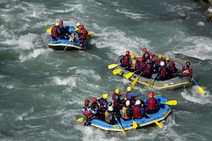 #Rafting im #tiroleroberland