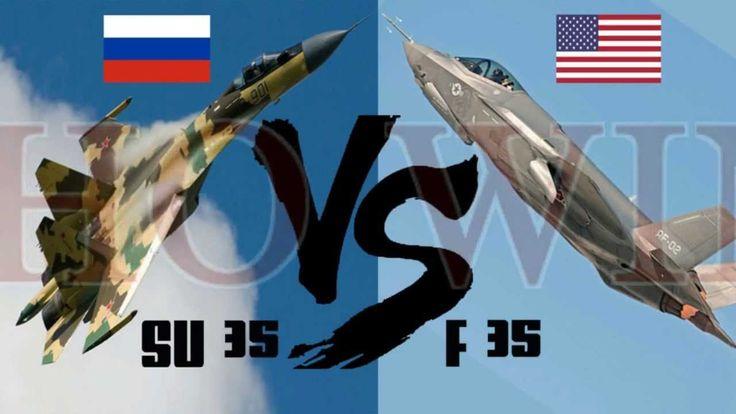 America's F 35 vs Russia's Su 35   Who Wins?
