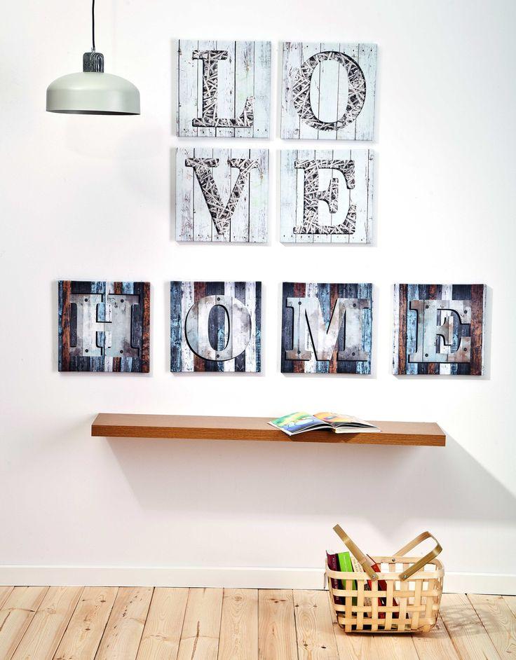 Inspiruj się codziennością #wnętrza #interior #obipolska #OBI #style #homestyle #homedesign #room #home #picture #wall #story #inscription #inspiration #love