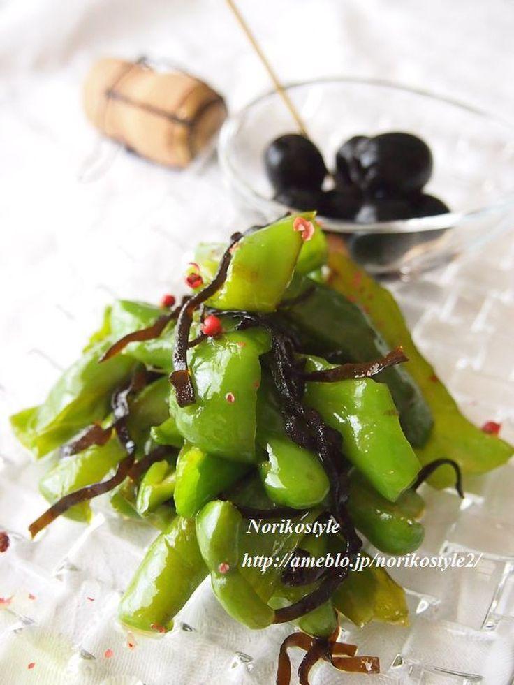 万願寺とうがらしの塩昆布マリネ by 紀子 | レシピサイト「Nadia | ナディア」プロの料理を無料で検索