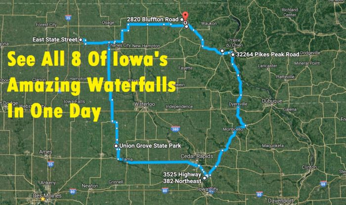 The Ultimate Iowa Waterfalls Road Trip Is Right Here And You'll Want To Do It | Only In Your State