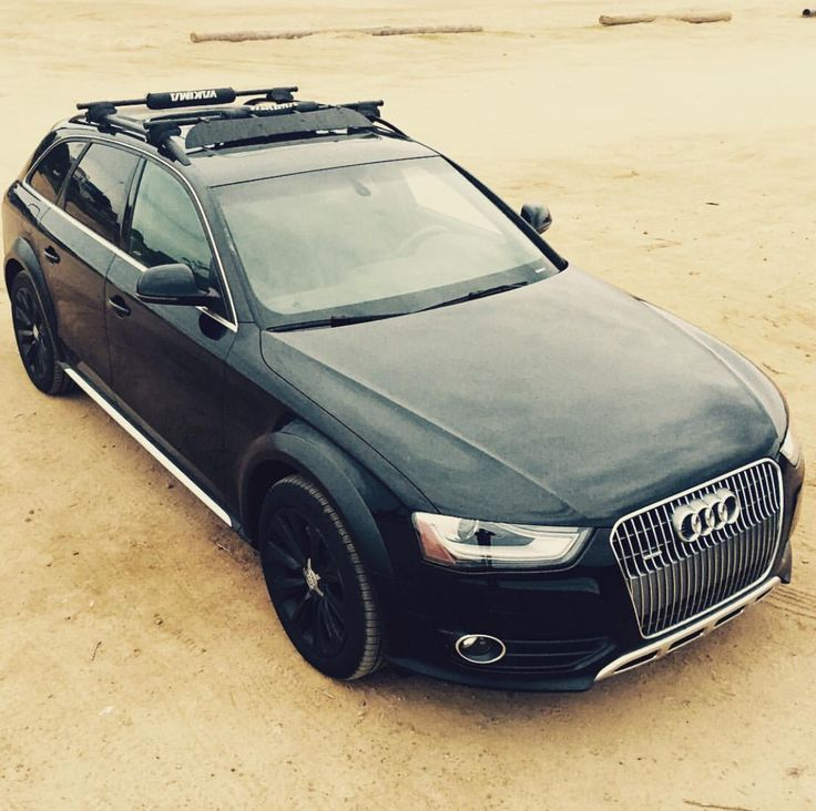 Blacked out Audi Allroad