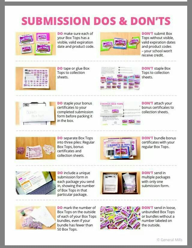88 best box tops ideas images on Pinterest | Box tops contest ...