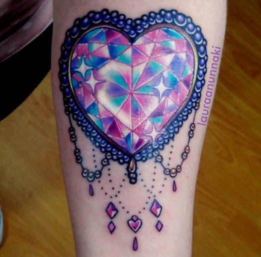 25 best ideas about gem tattoo on pinterest diamond heart tattoos awesome tattoos and cool. Black Bedroom Furniture Sets. Home Design Ideas
