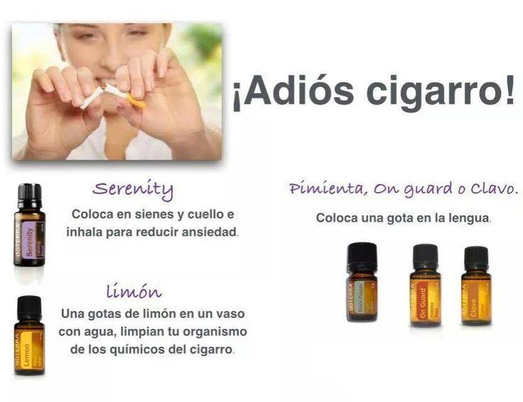 Aromaterapia Essential oils Deja el vicio del Cigarro de una vez