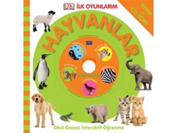 Pearson Yayıncılık - İlk Oyunlarım - Hayvanlar - Pearson - 2-6 yaş çocuk Kitabı - Bebek Dokun Öğren Serisi Afacan Kitap
