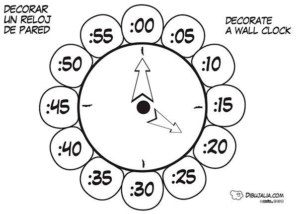 Mejores 53 imgenes de Horas Reloj en Pinterest  Reloj