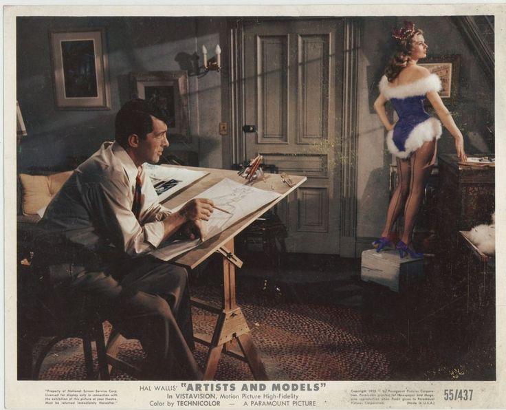 ARTISTS AND MODELS 1955 MLC Dean Martin, Anita Ekberg