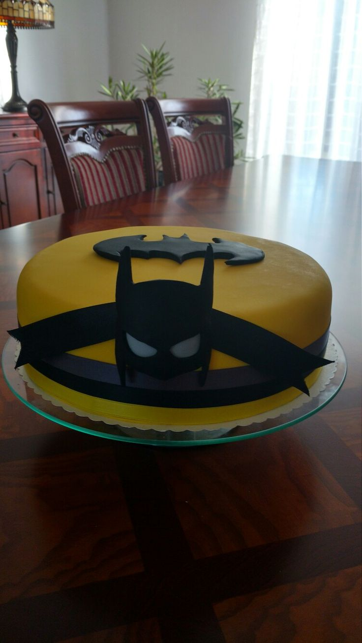 Tort Batman- autor Słodka sosnowa