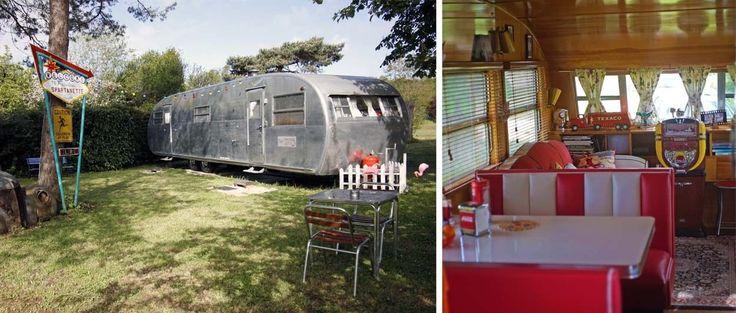 Visite rétro : une caravane américaine 50's entièrement rénovée par un passionné