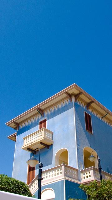 Blue House, Sardinia