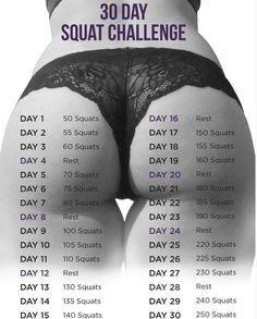 30-day-squat-challenge-booty: https://weightloss120934.wordpress.com/ #weightloss #fitness