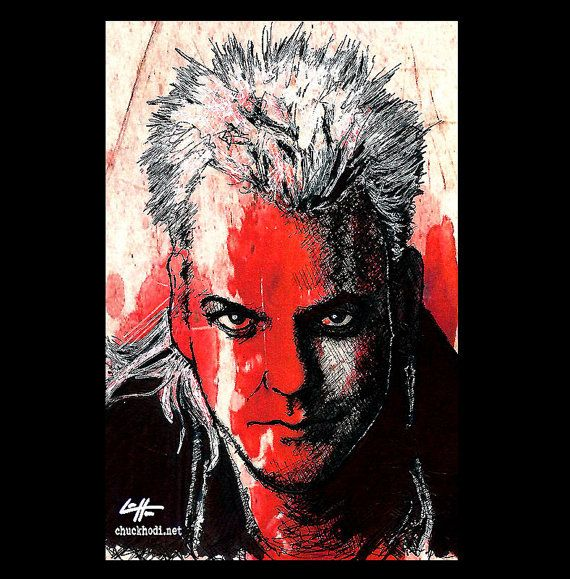 Print 11x17  David Von Etten  The Lost Boys Vampire by chuckhodi, $20.00. I think my brother's place in my home needs this picture in it. It was his fave movie!
