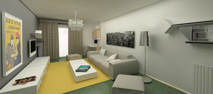 Apartment in Gracia, Barcelona, designed by ''mydezigner''