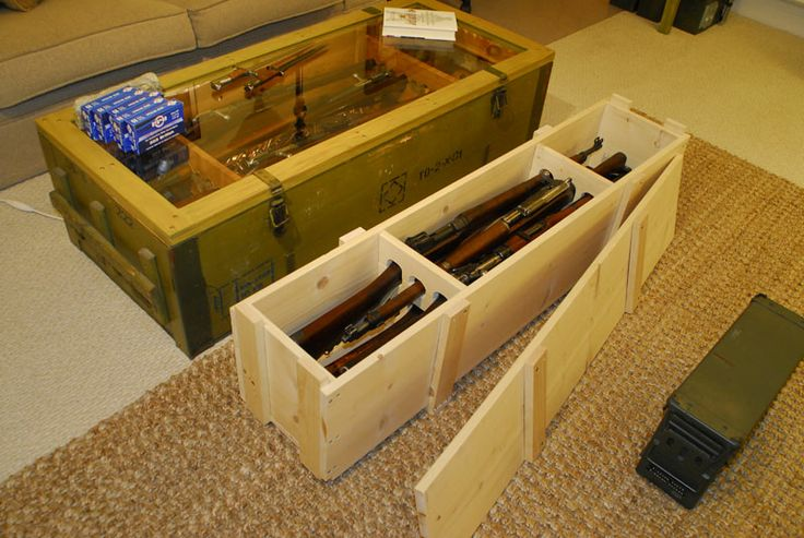 I Built A Rifle Transport Crate Ar15 Com Archive