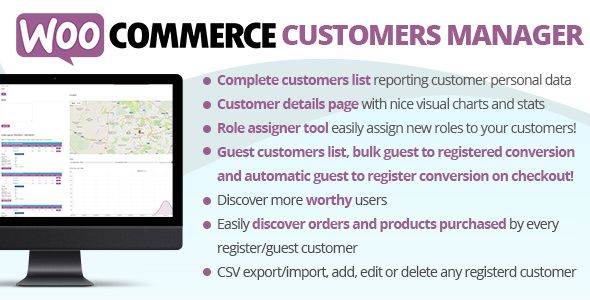 WooCommerce Customers Manager v18.2  Blogger Template