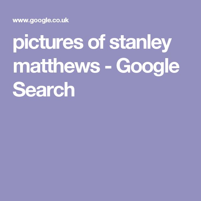 pictures of stanley matthews - Google Search
