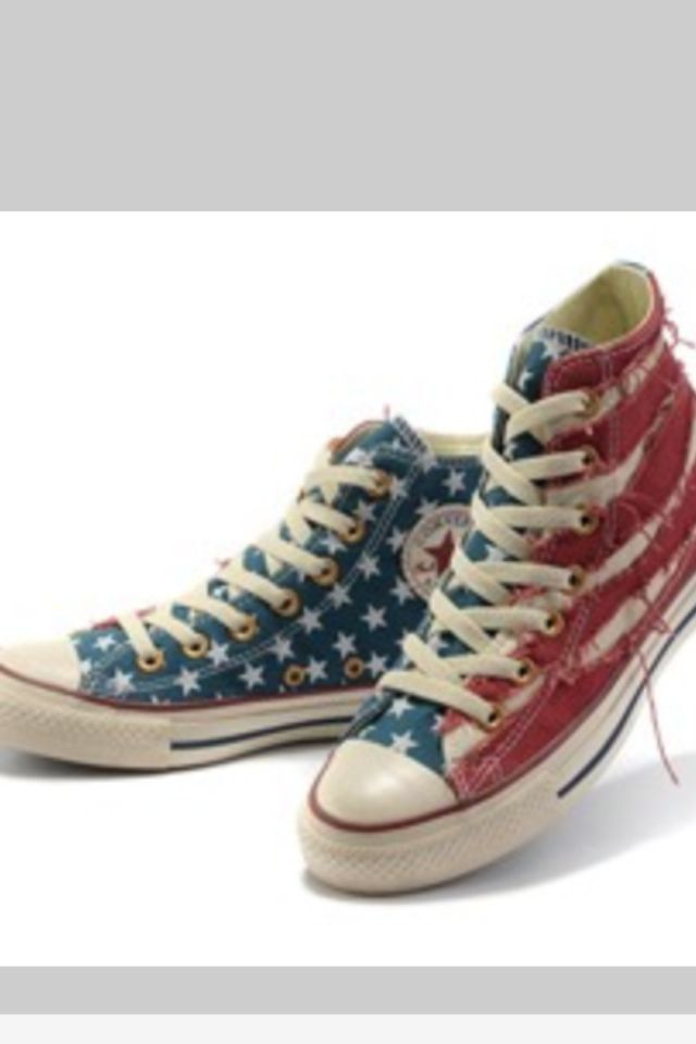 converse sneakers outlet zwfl  2012 New Converse American Flag All Star Jeremy Shu-How Lin Hot NBA Star  High Tops Ragged Blue Red Canvas Shoes I want a pair -- Chucks size