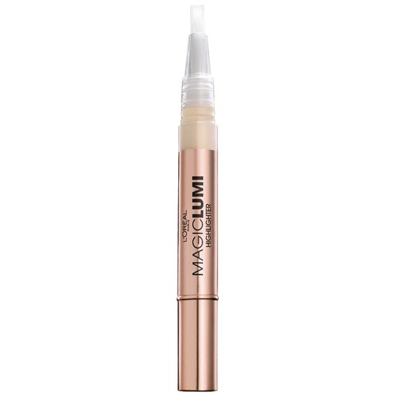The Best Drugstore Highlighters to Get Your Glow On - L'Oreal Paris Magic Lumi Highlighting Concealer from InStyle.com