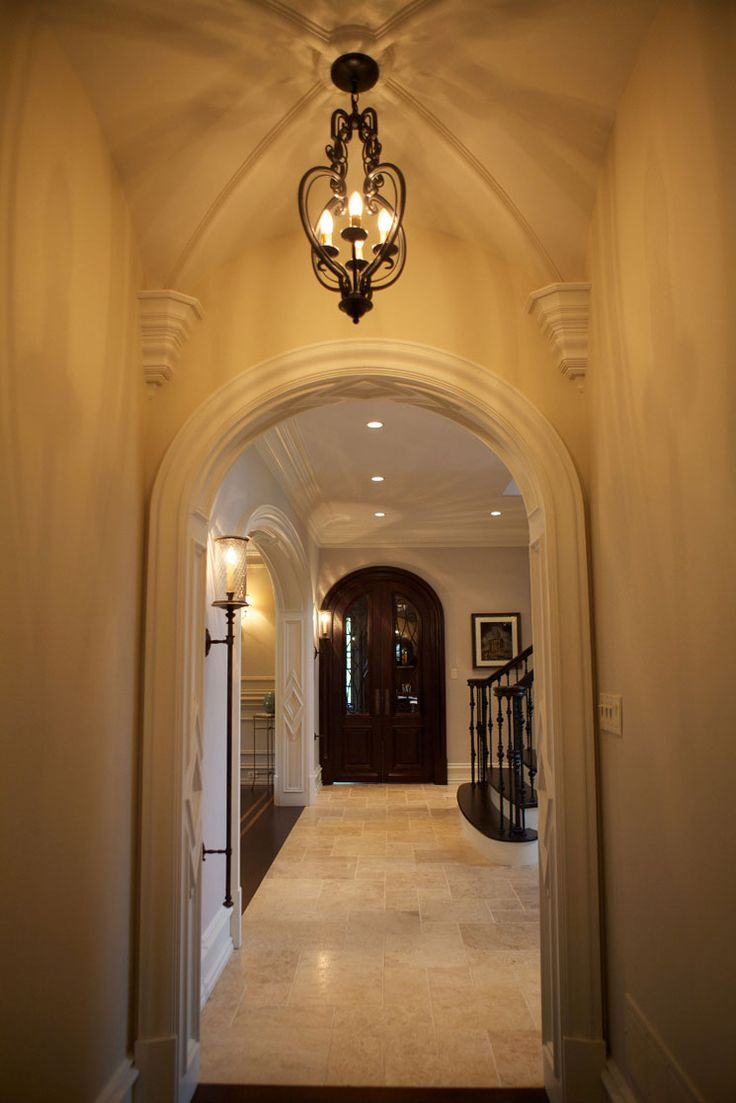 Grand barrel vaulted ceiling gallery2 beyond the ceiling - Vaulted ceiling designs for homes ...