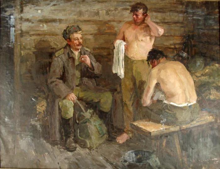 русская баня картина