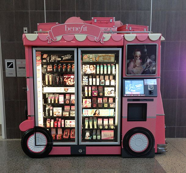 Glam on the Go | Touch Up After You Touch Down: Benefit Introduces New Automatic Kiosks at 25 Airports