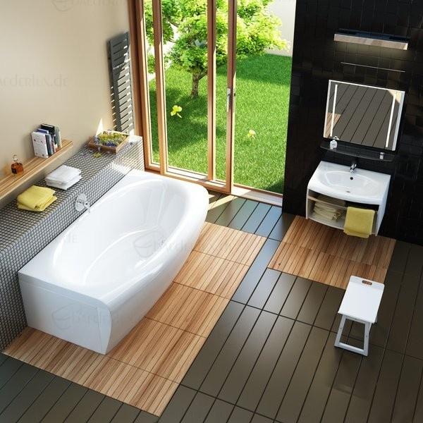 Sehr schöne, rechteckige Badewanne Evolution 180 x 87 / 102 x 47 cm Luxuswanne