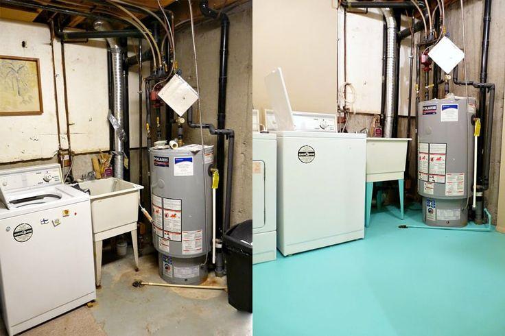 17 Best Ideas About Unfinished Laundry Room On Pinterest Unfinished Basemen