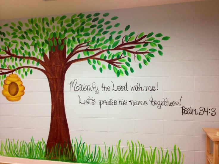 Wall Decor For Sunday School : Ideas about sunday school rooms on