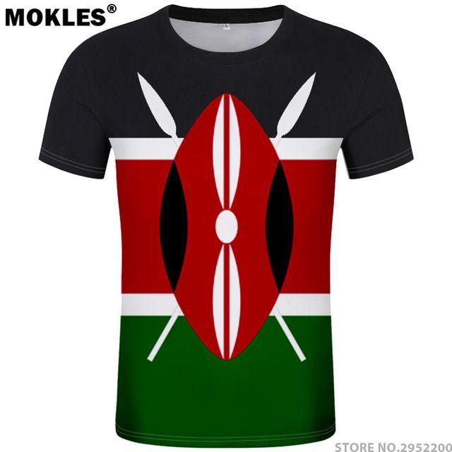 Kenya T Shirt Diy Free Custom Made Name Number Ken T Shirt Nation