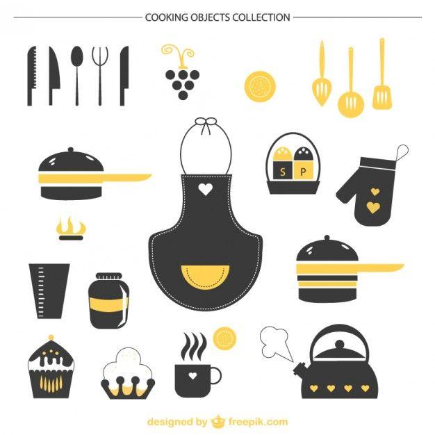Ilustrações para chá de cozinha