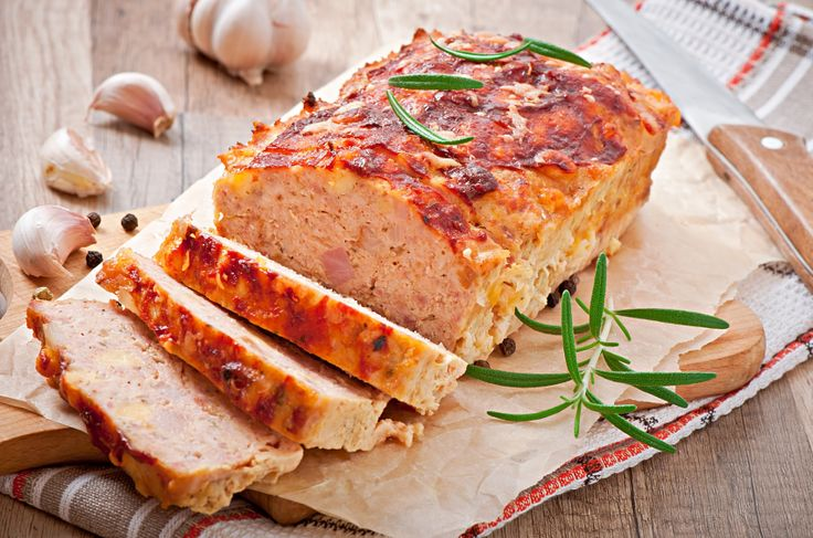 Cheesy Chicken Meatloaf