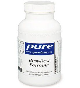 Pure Encapsulations - Best-Rest Formula 60 VegiCaps